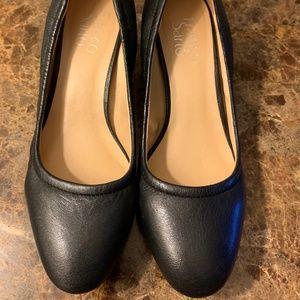 Franco Sarto Black Block heeled shoes